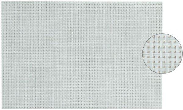 Tischset Platzset ELEGANCE mint grün gewebt 1 Stk. abwaschbar 45x30 cm Kunststoff