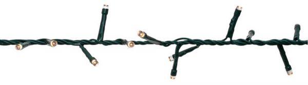 LED Außenbereich Cluster-Lichterkette 8 m / 400-flammig Blinken & Lauflicht