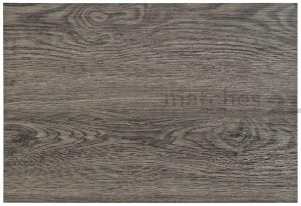 Tischset Platzset 1 Stk. Holzdesign Holzbrett 1,5mm dunkelgrau Kunststoff