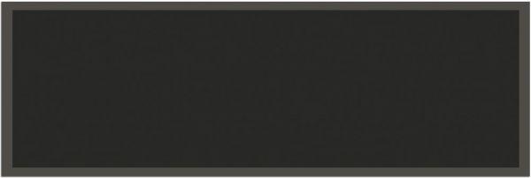 Fußmatte Teppichläufer UNI einfarbig rutschfest waschbar 50x150 cm Farbe schwarz