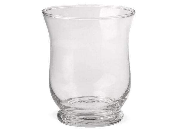Vase Glas Bauchig Dekoglas Glasvase Blumenvase Bodenvase hoch 1 Stk Ø 19x20 cm