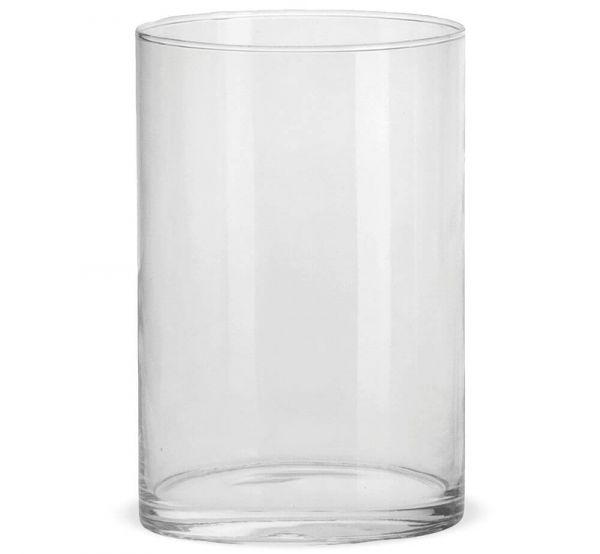 Vasen Glas Dekogläser Glasvasen Blumenvasen Zylinder hoch